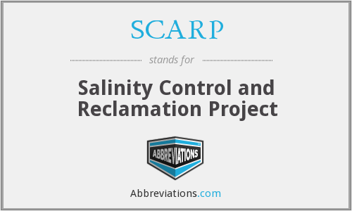 What does SCARP stand for?
