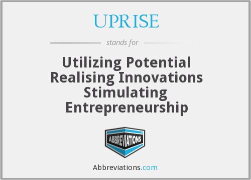 What does UPRISE stand for?