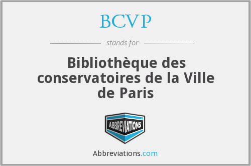 What does BCVP stand for?