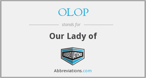 What does OLOP stand for?
