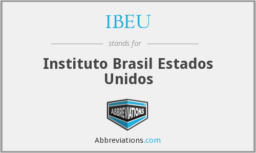 What does IBEU stand for?
