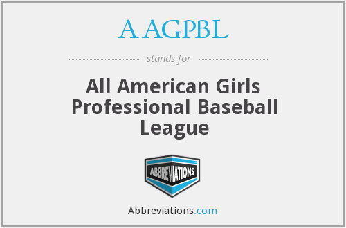 What does AAGPBL stand for?