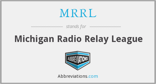 What does MRRL stand for?