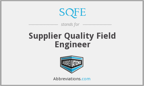 What does SQFE stand for?