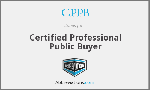 What does CPPB stand for?