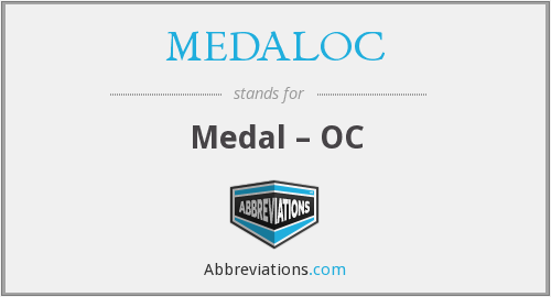 What does MEDALOC stand for?