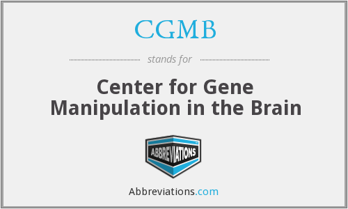 What does CGMB stand for?