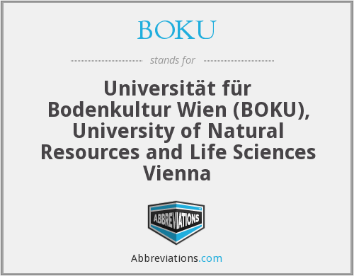 What does BOKU stand for?