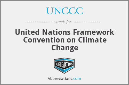 What does UNCCC stand for?