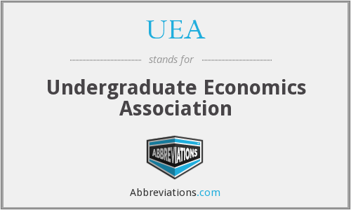 What does UEA stand for?