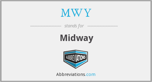 What does MWY stand for?