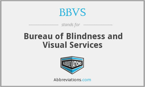 What does BBVS stand for?