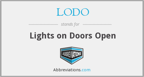What does LODO stand for?
