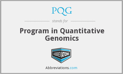 What does PQG stand for?