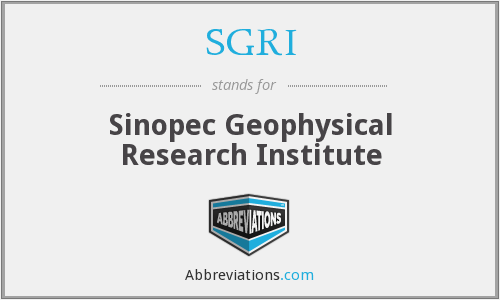 What does SGRI stand for?