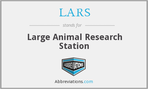 What does LARS stand for?