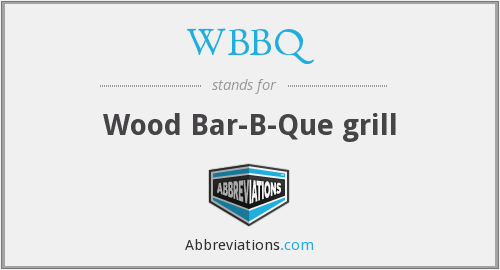 What does WBBQ stand for?
