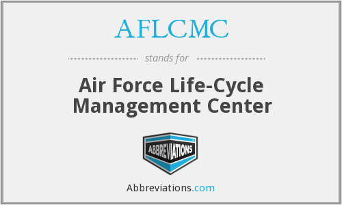 What does AFLCMC stand for?