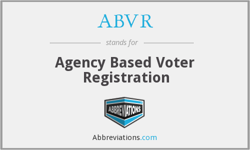 What does ABVR stand for?