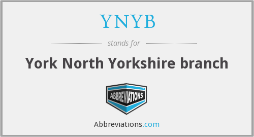 What does YNYB stand for?