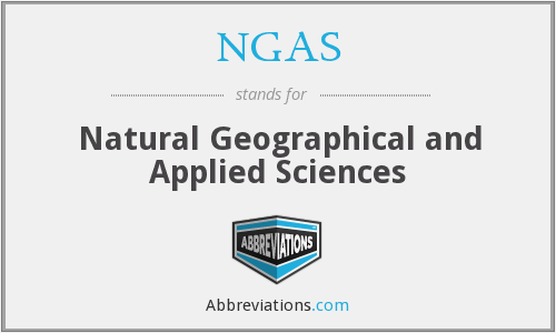 What does NGAS stand for?