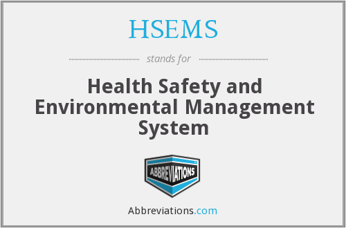 What does HSEMS stand for?