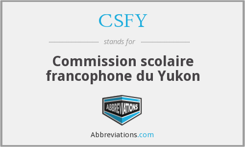 What does CSFY stand for?