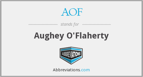 What does o'flaherty stand for?