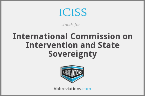 What does ICISS stand for?