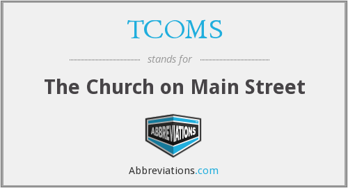 What does TCOMS stand for?