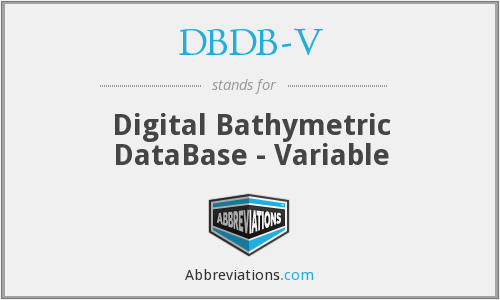 What does DBDB-V stand for?