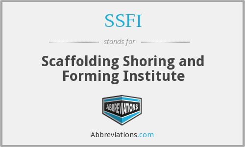 What does SSFI stand for?
