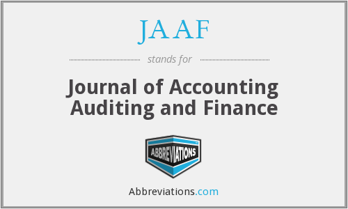 What does JAAF stand for?