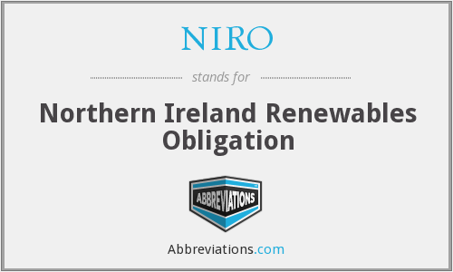 What does NIRO stand for?