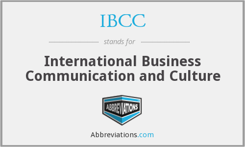 What does IBCC stand for?
