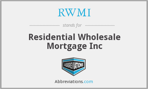 What does RWMI stand for?