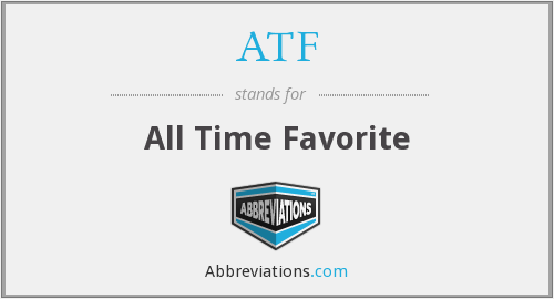 What does ATF stand for?
