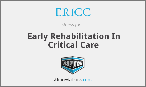 What does ERICC stand for?