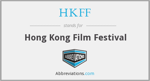 What does HKFF stand for?
