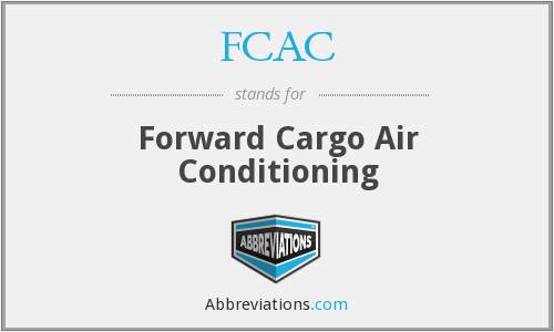 What does FCAC stand for?