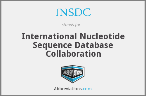 What does INSDC stand for?