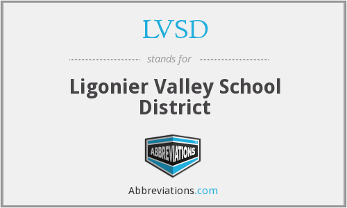 What does LVSD stand for?
