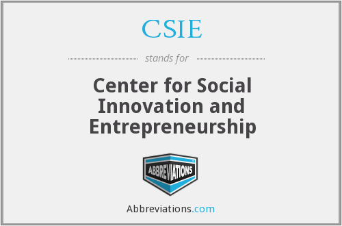 What does CSIE stand for?