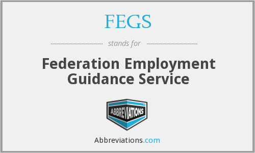What does FEGS stand for?
