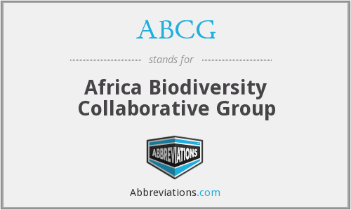 What does ABCG stand for?