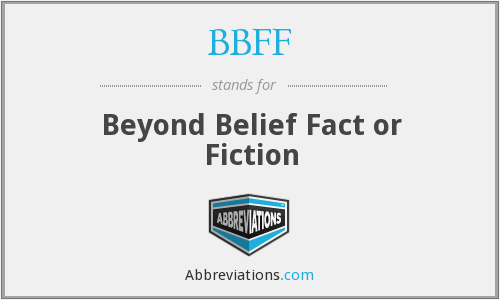 What does BBFF stand for?