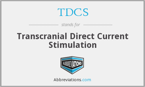 What does TDCS stand for?