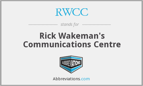 What does RWCC stand for?
