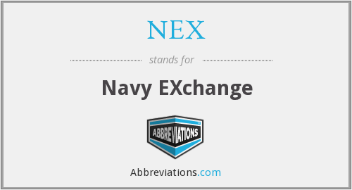 What does NEX stand for?