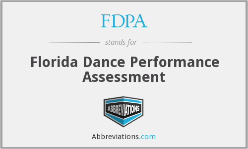 What does FDPA stand for?